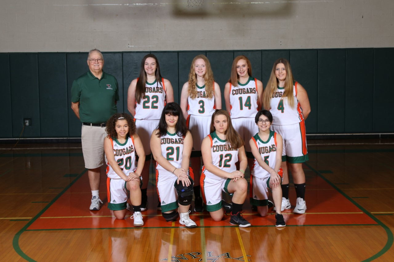 Girls JV Basketball Team