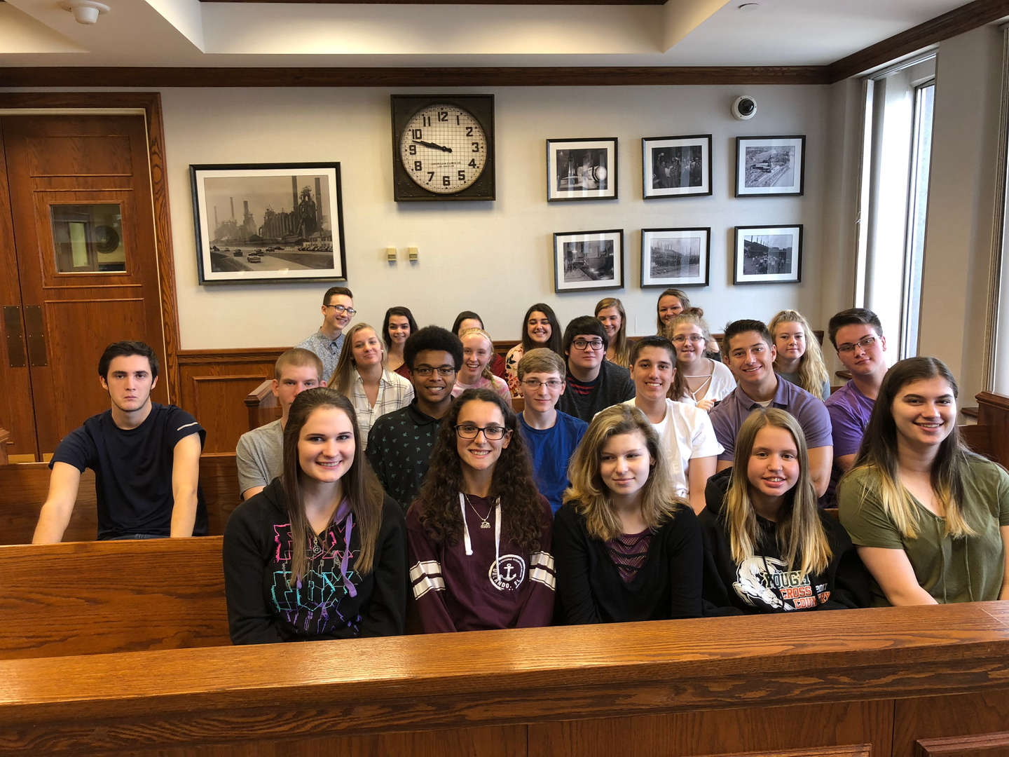 Mrs. Hasbrouck's Life After High School students got to attend Federal Bankruptcy Court.