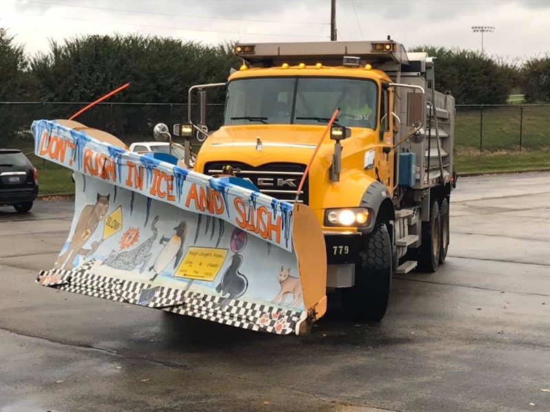 Yough WINS Penndot's Paint the Plow Contest Congratulations to Mrs. Berkey and Art students!