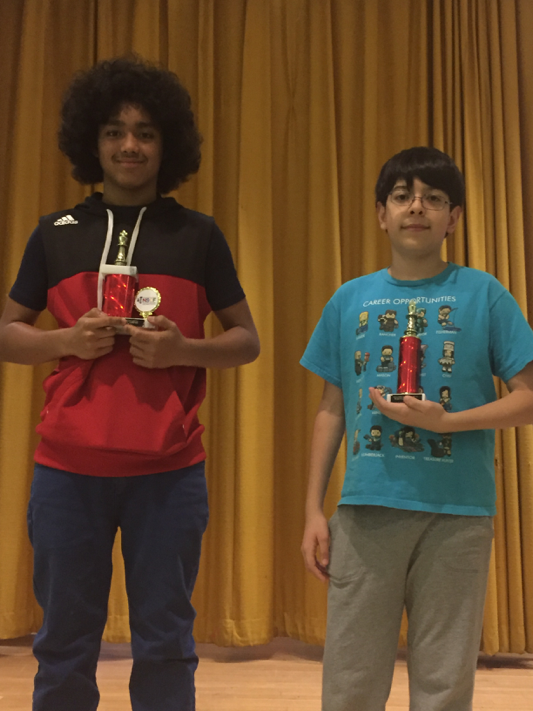 Students win awards at NSCF tournament.