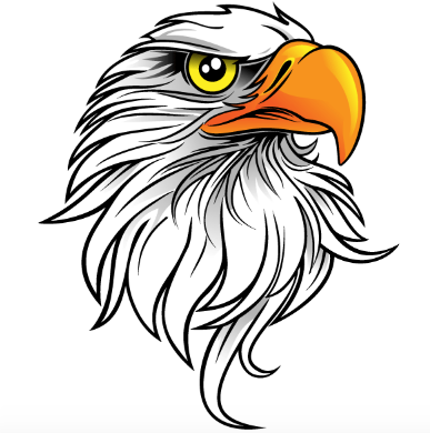 Anthony Elementary school eagle logo