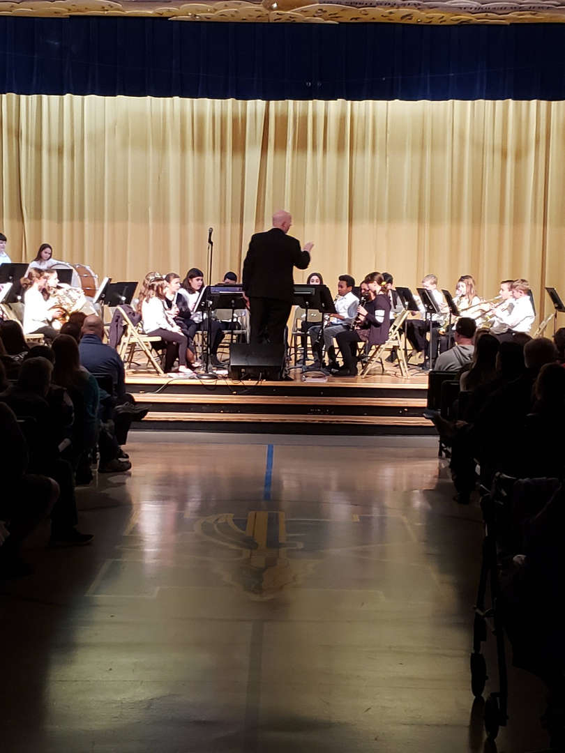 The 2020 Winter Band and Orchestra Concert