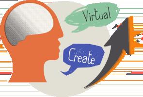 iLit ELL- Virutalize & Create Brain photo with speech bubbles