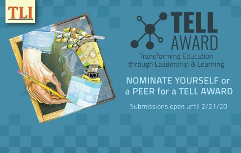 TLI TELL Award 2020