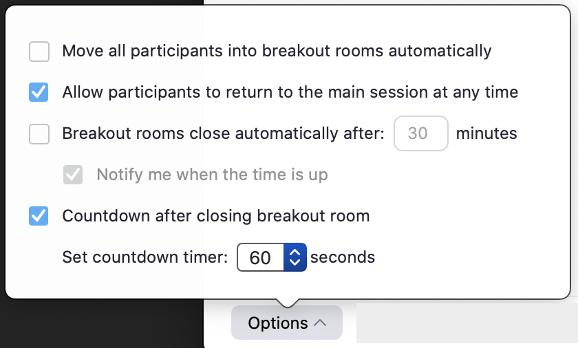 zoom assign breakout room
