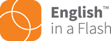 English in a Flash logo