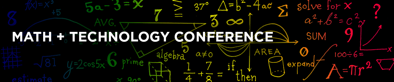 Math and Technology Conference banner