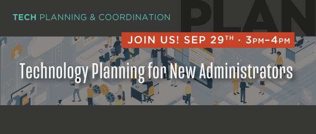 Tech Planning Webinar