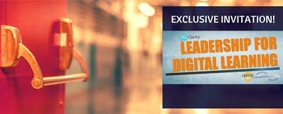 leadership for digital learning promo invite image