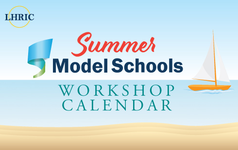 Model School Summer Workshop Calendar Flyer