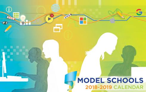 2018 -2019 Model Schools Catalog promotion
