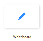 Zoom Whiteboard icon