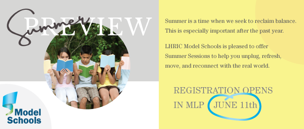 Summer Preview Model Schools