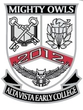 Alta Vista Early College High school logo