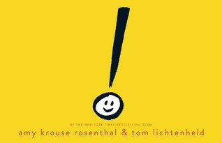 Book Cover with a Smiling Exclamation Mark