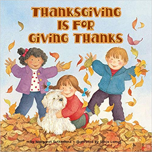 Book Cover - Thanksgiving is for Giving Thanks