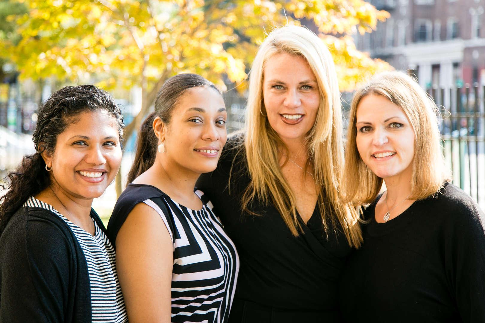 Smiling Administrative Team