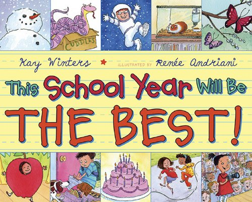 "Book Cover for ""This School Year Will be the Best"""