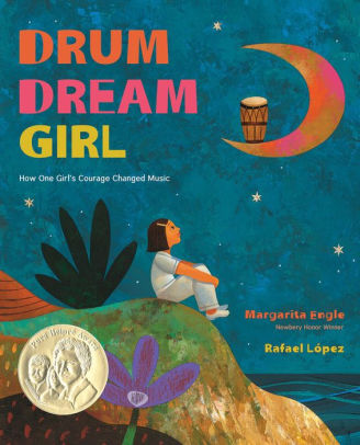 "Book Cover for ""Drum Dream Girl"""