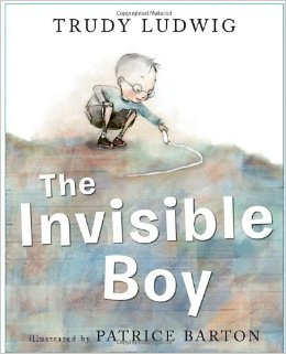 "Book Cover for ""The Invisible Boy"""