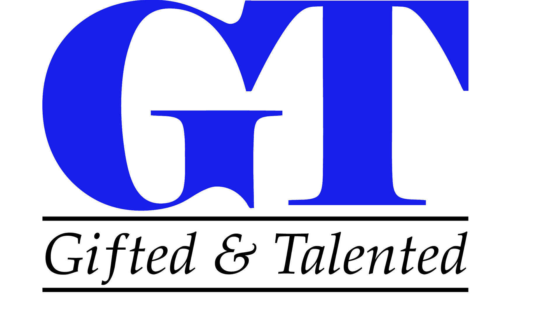 Gifted and Talented logo with link to Department of Education webpage