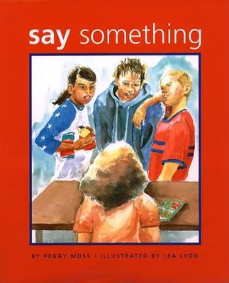 "Book Cover for ""Say Something"""