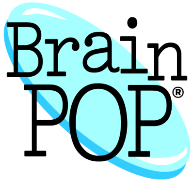 Brain Pop logo with link to organization's webpage