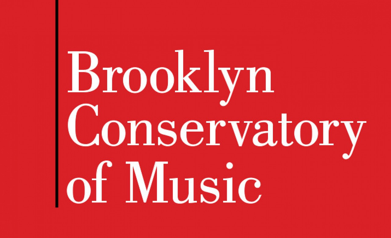 Brooklyn Conservatory of Music logo with link to organization's webpage