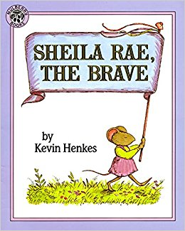 "Book Cover for ""Sheila Rae, The  Brave"""