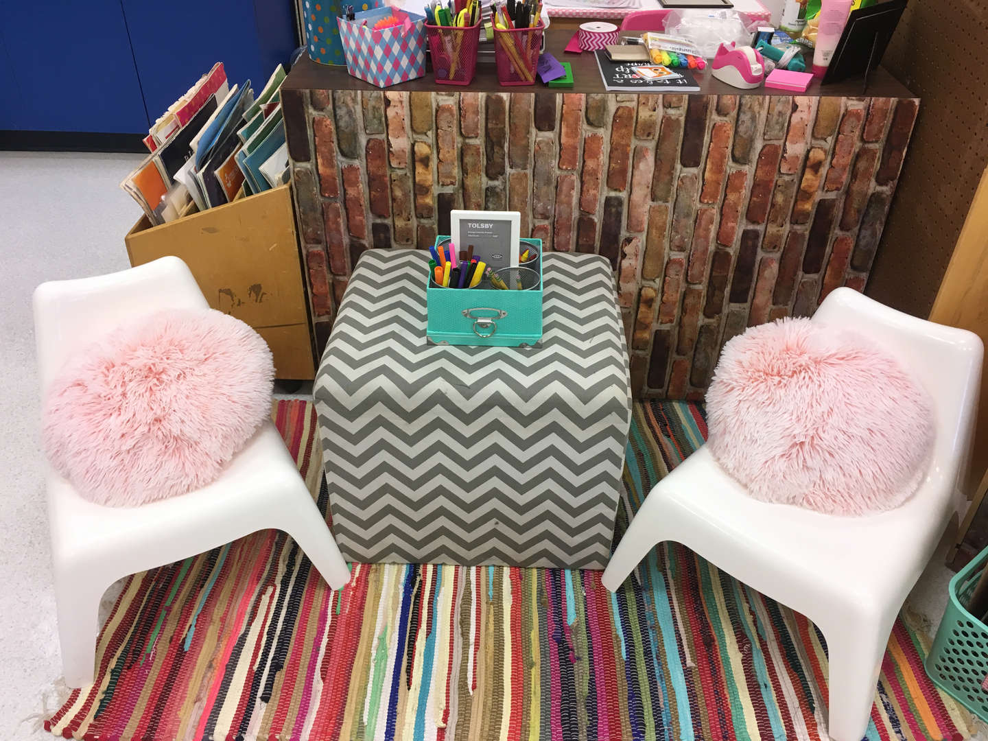 Flexible seating - conference area