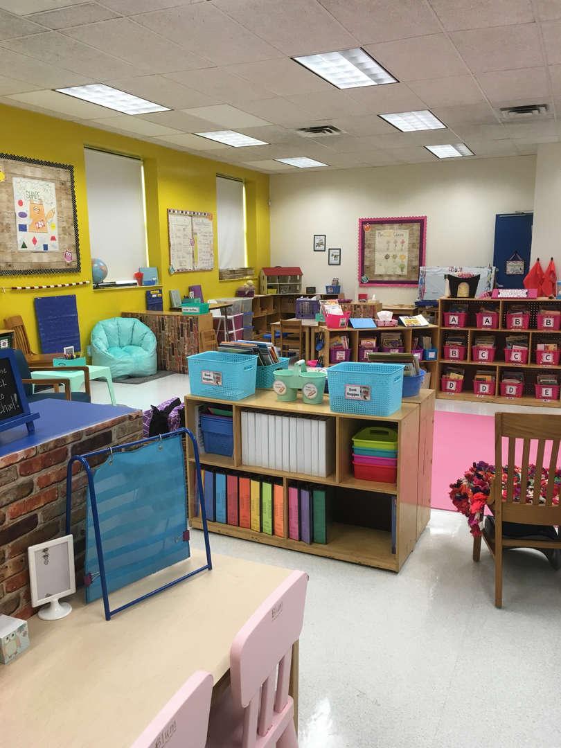 Ms. Blum's classroom
