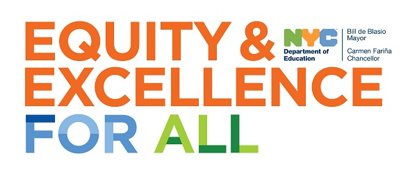 Equity and Excellence logo with link to Department of Education webpage