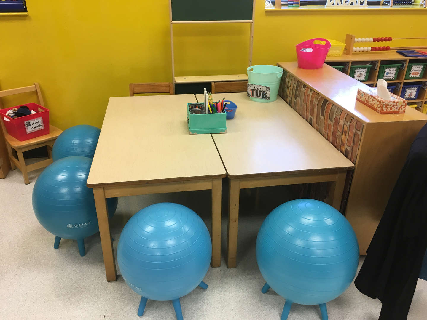 Flexible seating - balls