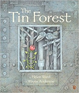 "Book Cover for ""The Tin Forest"""