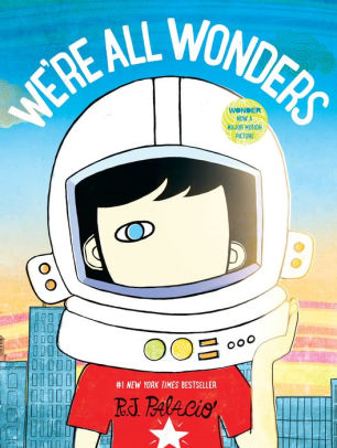 "Book Cover of ""We're all Wonders"""