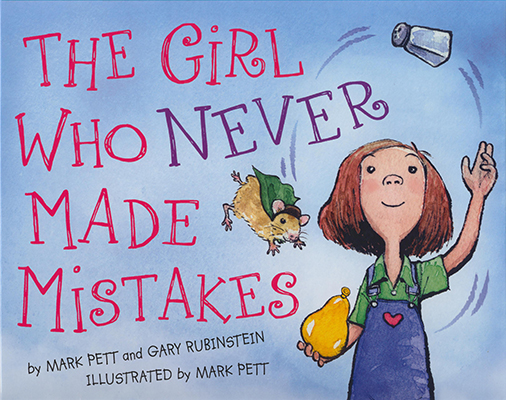 "Book Cover for ""The Girl Who Never Made Mistakes"""