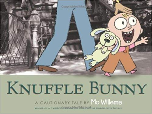 Book Cover - Knuffle Bunny