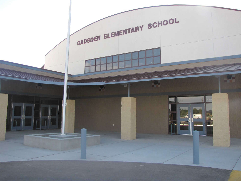 Gadsden Elementary school front fascade