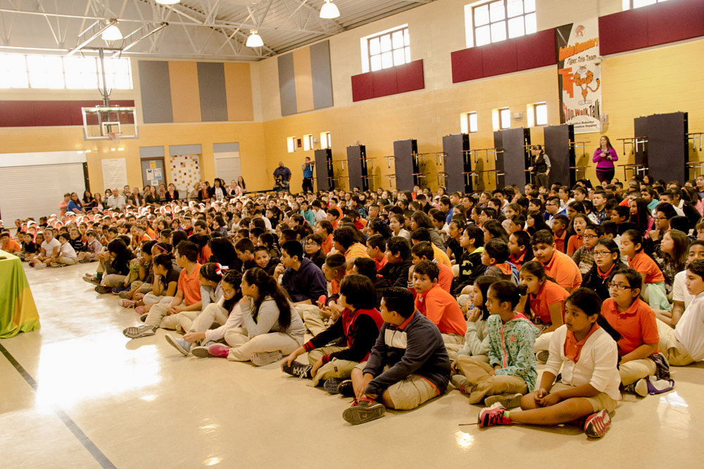 Gadsden Elementary students