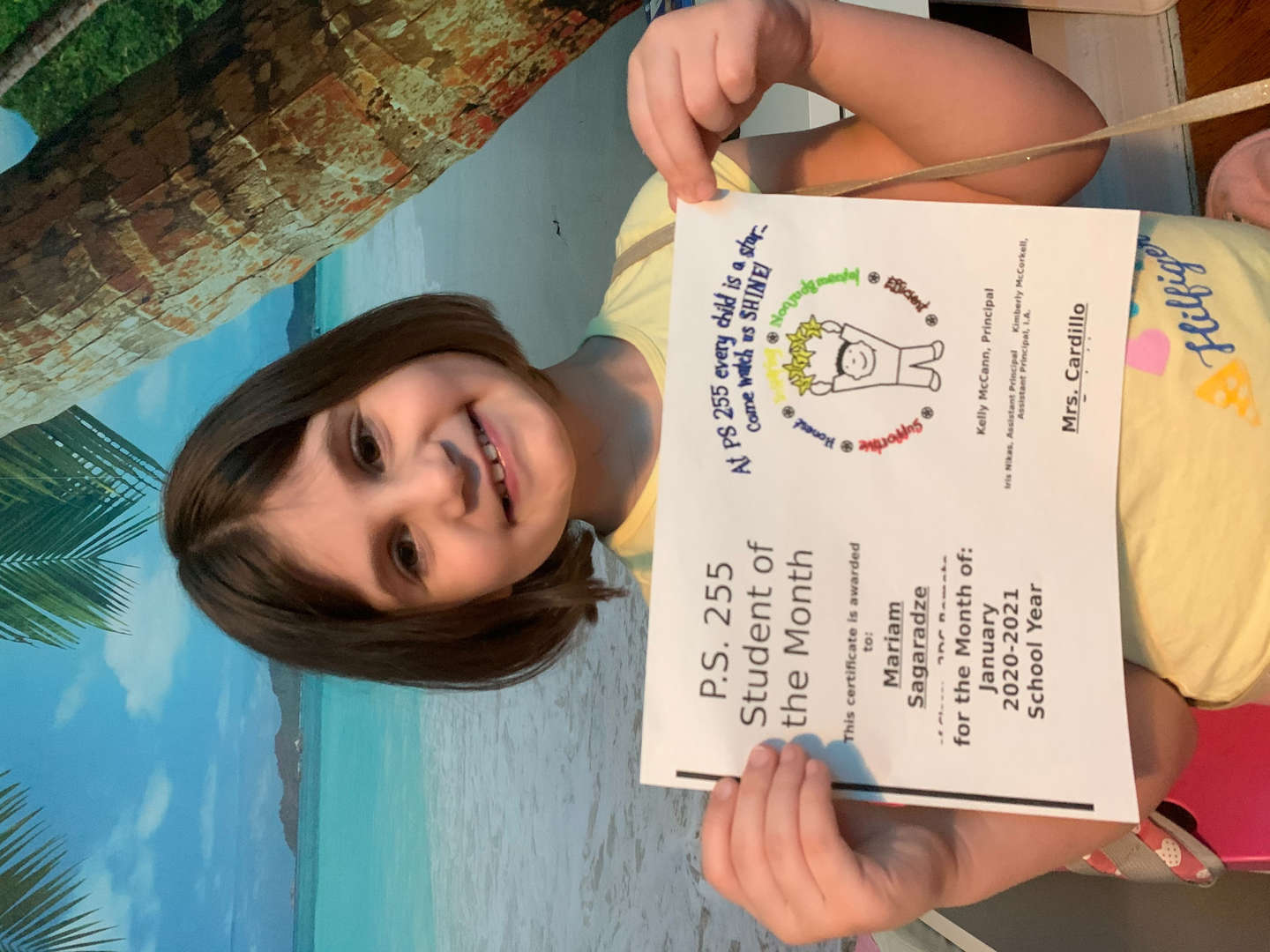 Mariam January Student of the Month