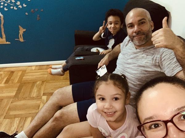 family enjoys the trip to Legoland