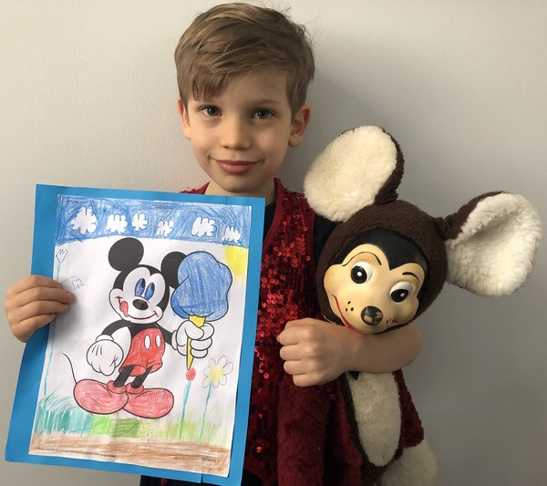 mickey coloring page