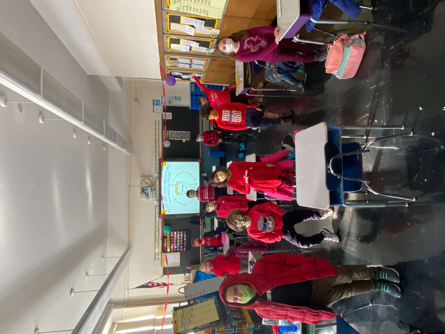 More wear red day