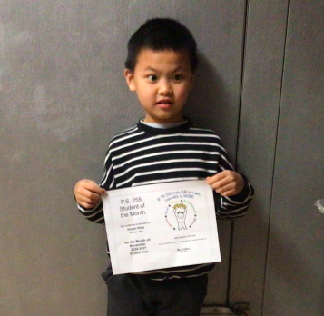 Zexuan November 2020 Student of the Month