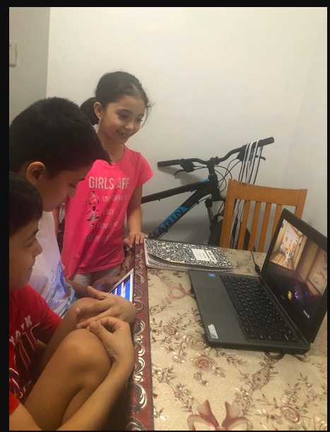 Family gathers for virtual trip to Lego Land