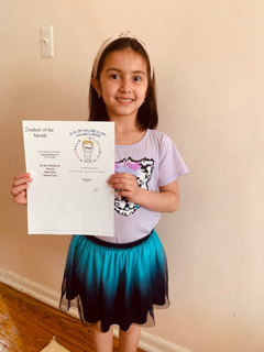 Narmina March Student of the Month