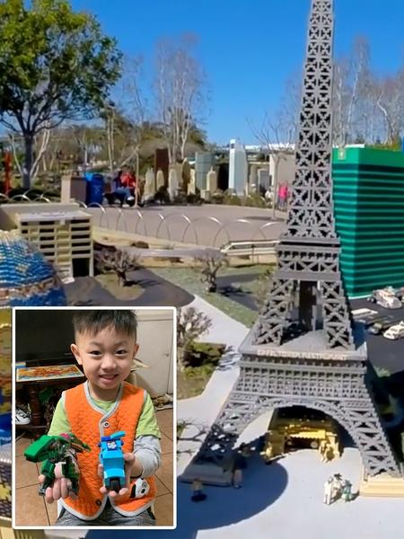 Student shares Legoland image
