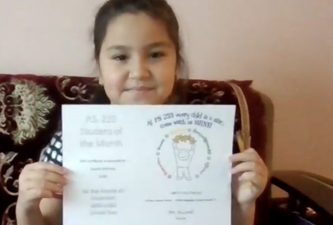 Kamila December Student of the Month