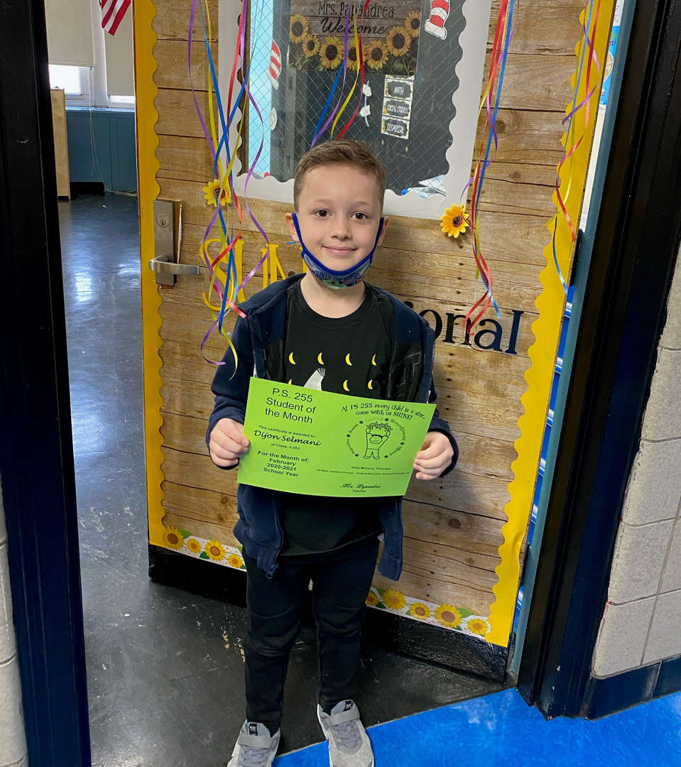 Dijon February Student of the Month