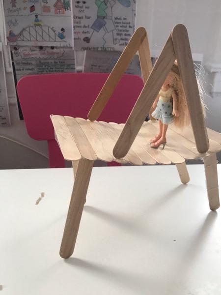 small doll crossing the bridge